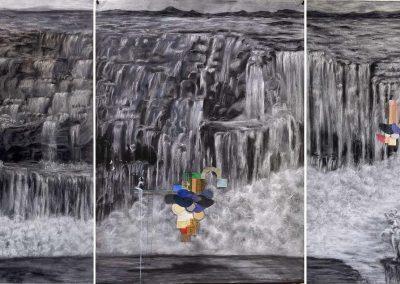 La fuerza del agua (tríptico)